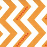 Simply Color - Dotted Zig Zag in Sweet Tangerine