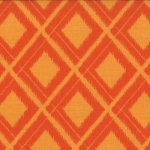 Simply Color - Ikat Diamonds in Sweet Tangerine