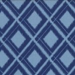 Simply Color - Ikat Diamonds in Navy
