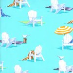 Ocean View - Beach Chairs In Aqua