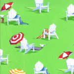 Ocean View - Beach Chairs In Lime