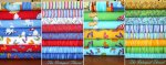 Ocean View - Fat Quarter Bundle Complete Collection includes Panels