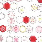 Sew Stitchy - Hexagons in Cotton