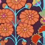 Kaffe Fassett-Sprays KF-GP107-BROWN