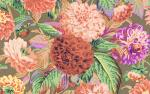 Phillip Jacobs-Pom Pom Dahlias-PJ38-BROWN