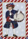 MS1318F Victorian 4th of July Drummer Boy