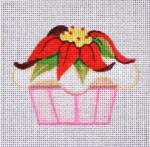 RCHO314 Poinsettia Cupcake