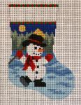 SR5403 Dancing Snowman Mini Sock