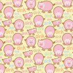 On The Farm Flannels - Oink