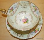 Tea Cup Royal Standard Antique English Tea Cup and saucer Signed Beautiful BOX52B