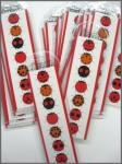 Charley Harper Art Ladybug Sampler Bookmark