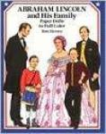 Abraham Lincoln & Family Paper Dolls Book Civil War USA