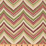 Zig Zag Modern Tribal Ethnic Chic Indoor and OUTDOOR Sun Safe Famous Maker Outdoor Fabric SRI153