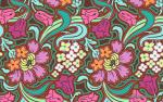 Amy Butler T148 Amy Butler Soul Blossoms Disco Flower Chocolate Quilt Fabric Cotton Fabric