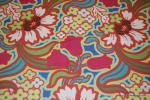 Amy Butler T149 Amy Butler Retro Modern Disco Flower Hot Pink Quilt Fabric Cotton Fabric
