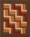 A Little Fall Rail Fence Quilt PDF Download