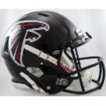 Atlanta Falcons Riddell Revolution Speed Full Size Authentic Football Helmet