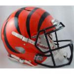 Cincinnati Bengals Riddell Revolution Speed Full Size Authentic Football Helmet