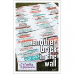 Another Brick in the Wall Quilt Pattern by Carolina Patchworks