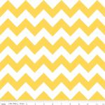 Chevron Cottons by Riley Blake in Yellow