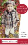 Chloe Reversible Jacket by Peek-a-boo Patterns, Instant PDF Download