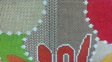 how to do a needlepoint kalem stitch