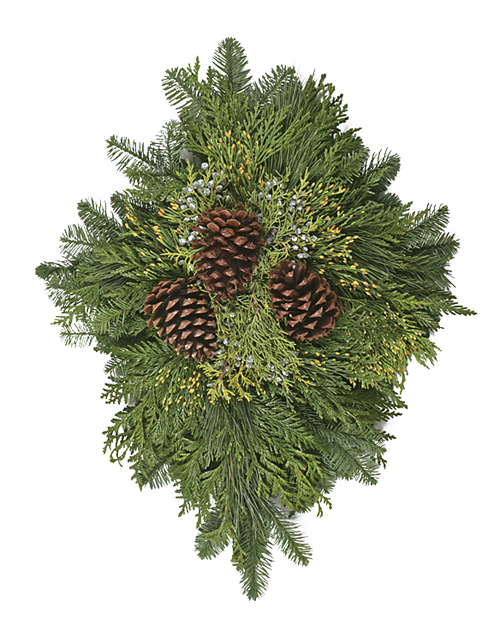 Evergreen Door Charm