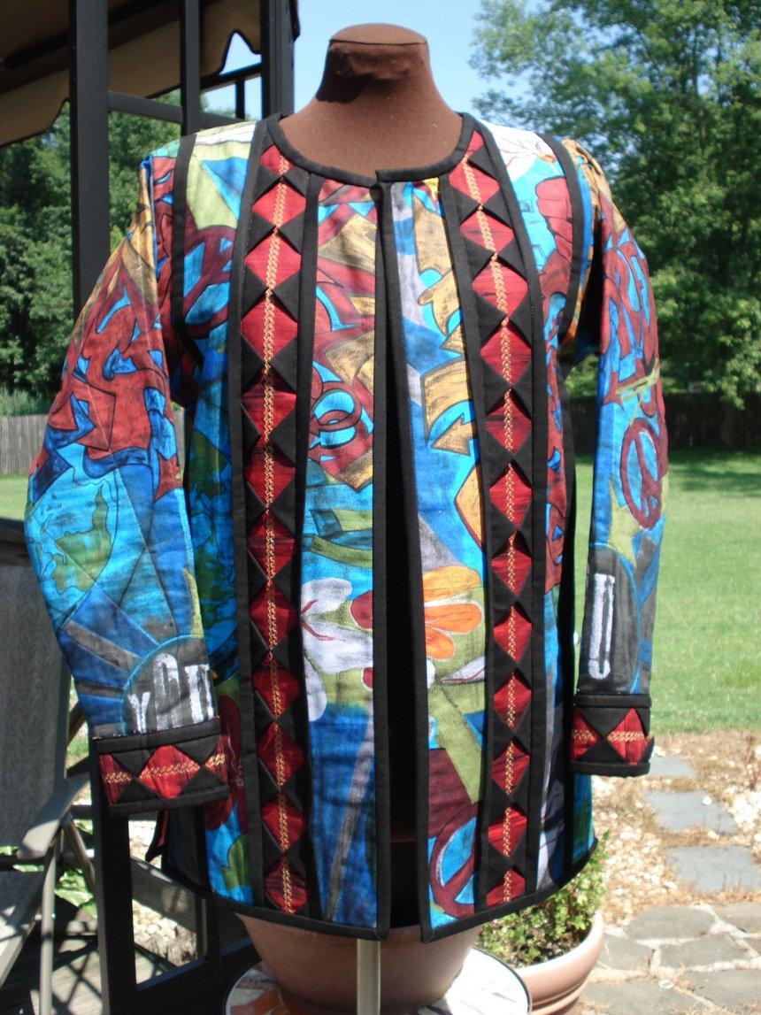 quilted jacket sweatshirt pattern