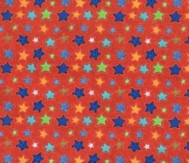 Starlight Flannel by Blank  BTR5647 Red
