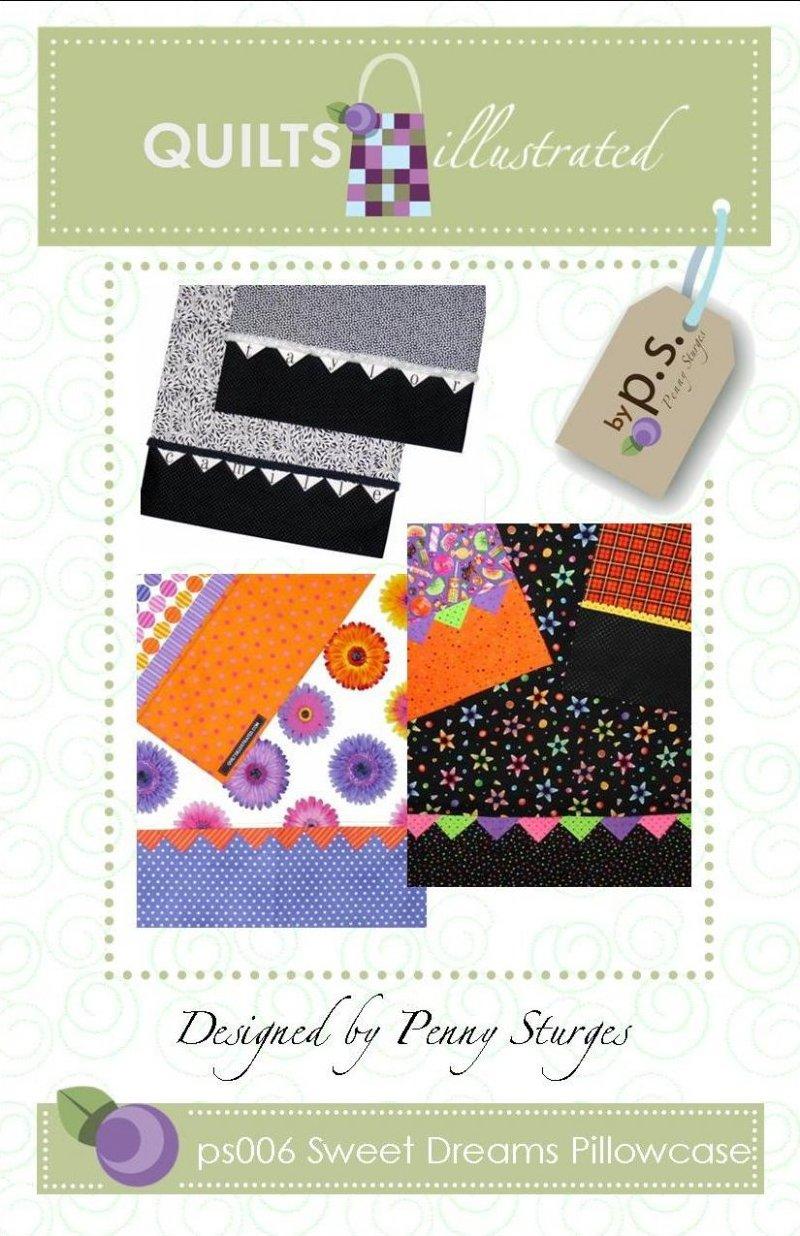 ps006 Sweet Dreams Pillowcase Pattern