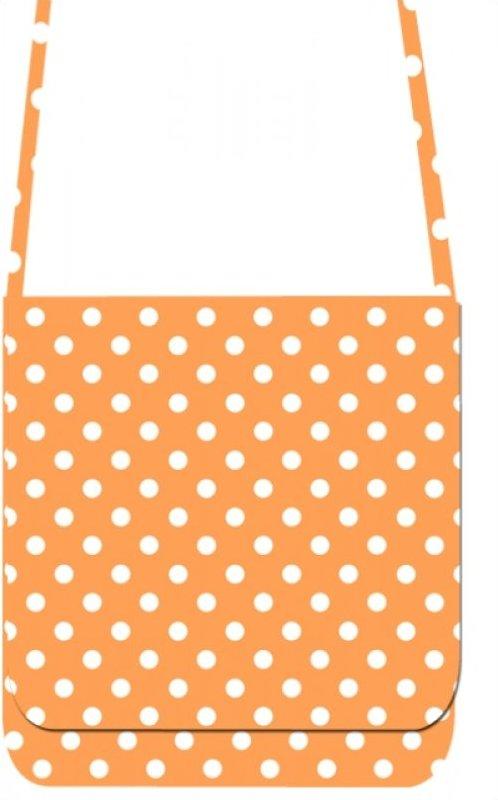 Mini Messenger Kit - LakeHouse Orange Polka Dots