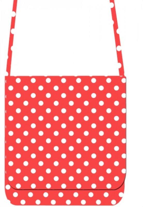 Mini Messenger Kit - LakeHouse Red Polka Dots