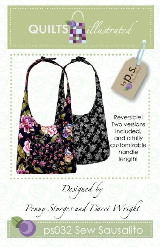 ps032 Sew Sausalito Tote Pattern