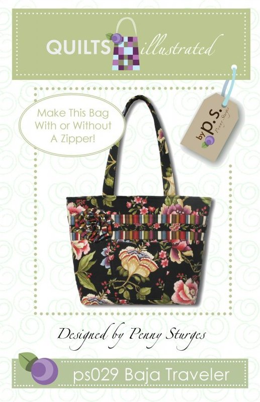 ps029 Baja Traveler Tote Pattern