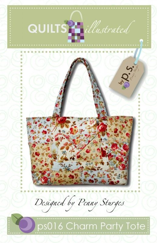 ps016 Charm Party Tote Pattern