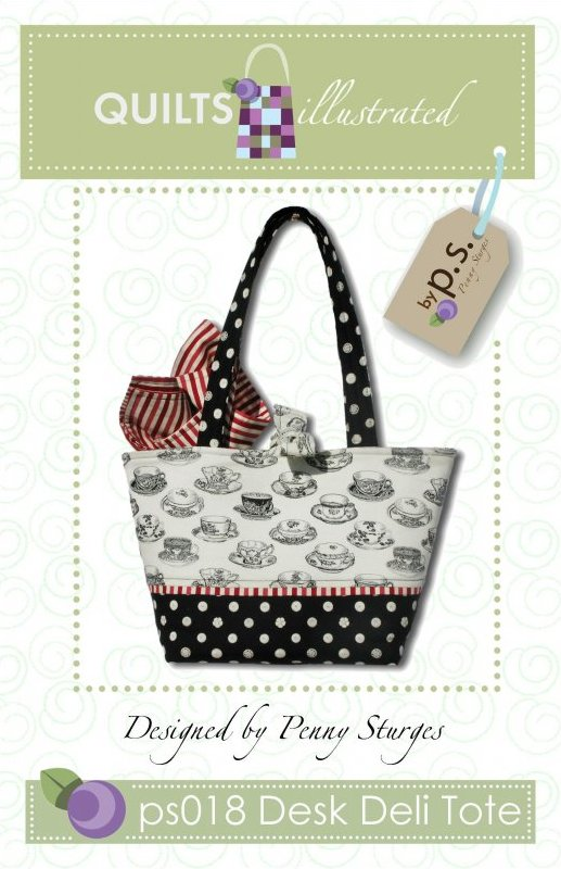 ps018 Desk Deli Tote Pattern