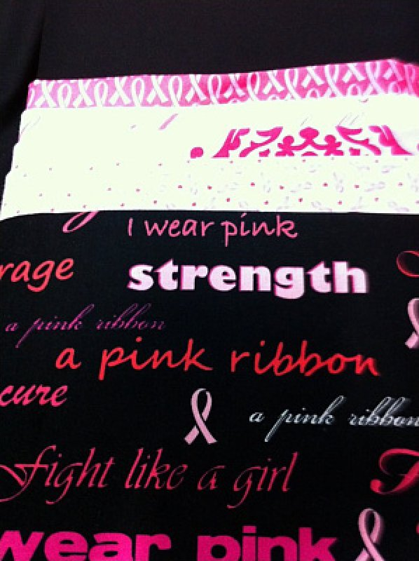 Xoxo Kit With Breast Cancer Awareness Fabric