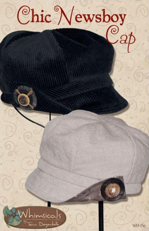 wh156 :: chic newsboy cap