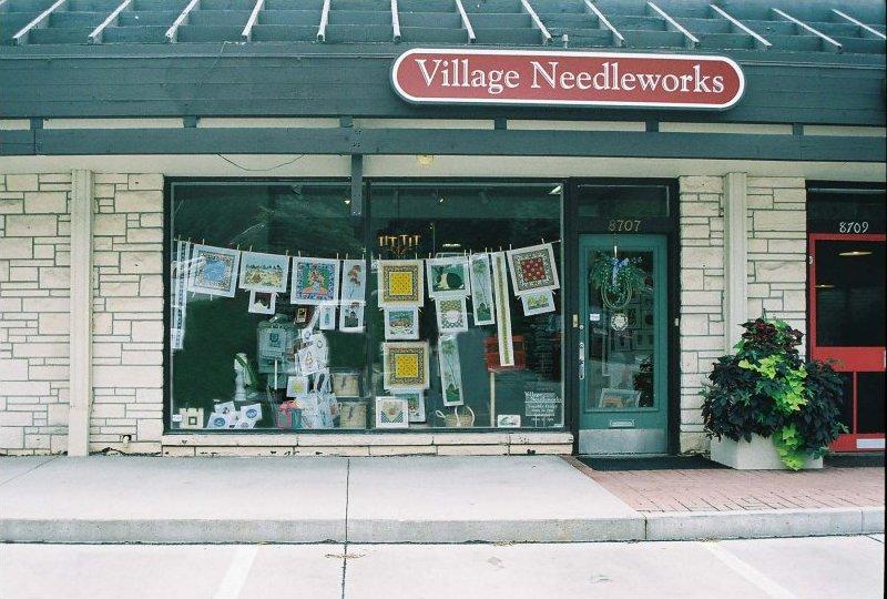 Village Needleworks Omaha's full-service needlepoint shop
