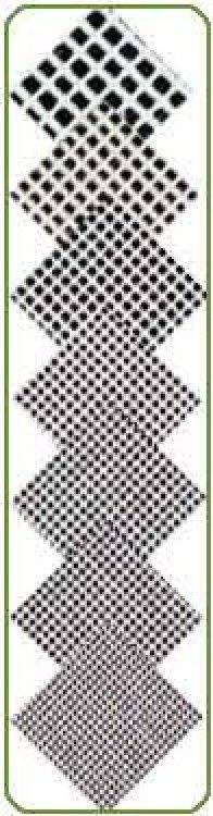 Blank Needlepoint Canvas - Interlock