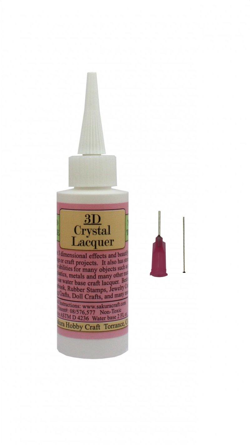 01802 <br /> 3D Crystal Lacquer <br /> 2oz. Starter Kit
