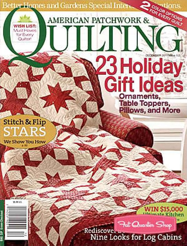 Magazine Better Homes and Gardens American Patchwork & Quilting ... : better homes and gardens quilting - Adamdwight.com