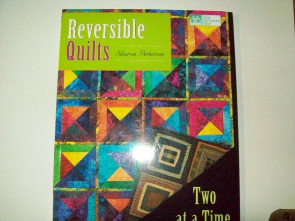 That patchwork place quilt book reversible quilts by for Patchwork quilt book