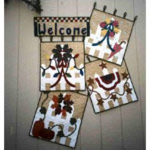 Welcome Home-Snuggles Quilts by Deanne Eisenman-P4915