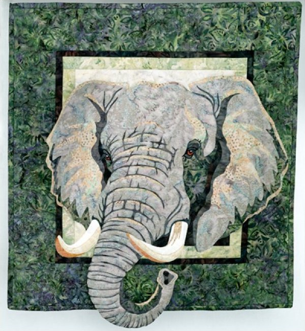Savanna by Toni Whitney Pattern 23.75 x 26.5 - wall hanging -718122070787