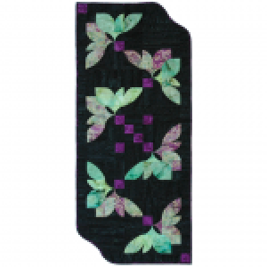 Fan Flower Table Runner Pattern - Southwind Designs - SWD-418-FF - 896951000929