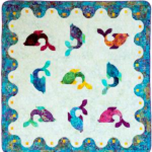Fishy Fishy Quilt Pattern - Southwind Designs - SWD-322-FF