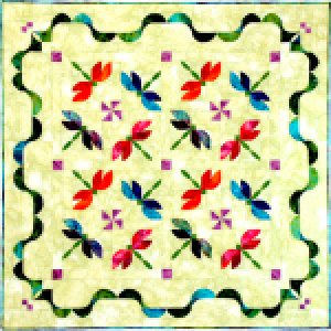 Dance of the Dragonflies Quilt Pattern - Southwind Designs - SWD-321