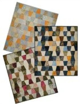 Charmed Tumbler - A Charm Square Quilt Pattern - 4 sizes by Far Flung Quilts - FFQ021