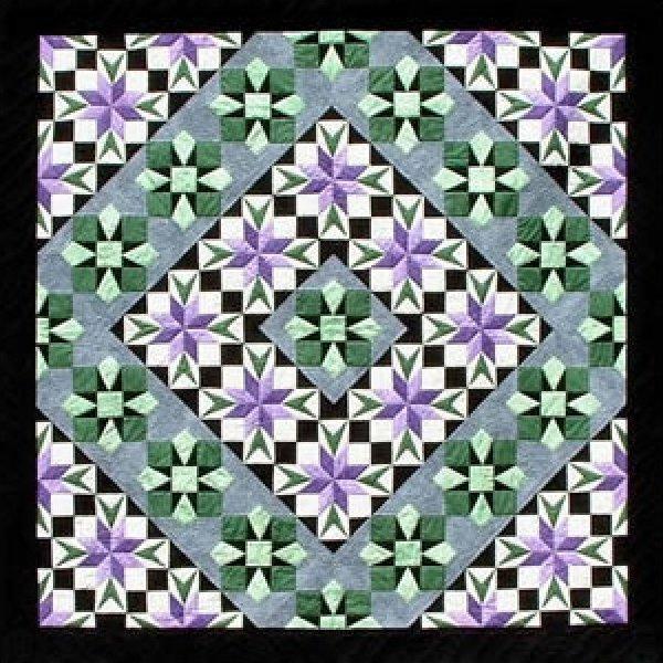 Star Flower - A Quilt Design Pattern by Dereck C. Lockwood   172